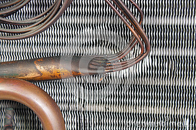 Old Evaporator Coil 13 Royalty Free Stock Photos Image