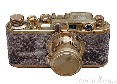 Old exclusive german rangefinder came
