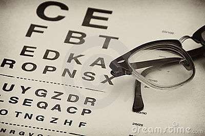 Old eyechart