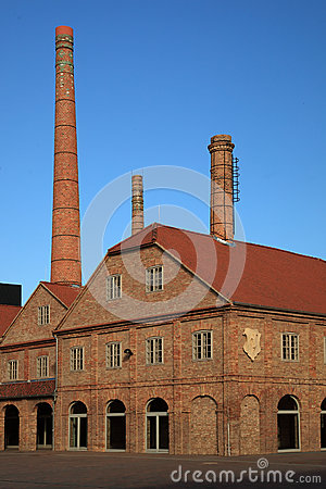 Free Old Factory Royalty Free Stock Photos - 26288508