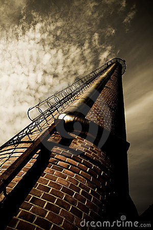 Free Old Factory Chimney Royalty Free Stock Photo - 3974695