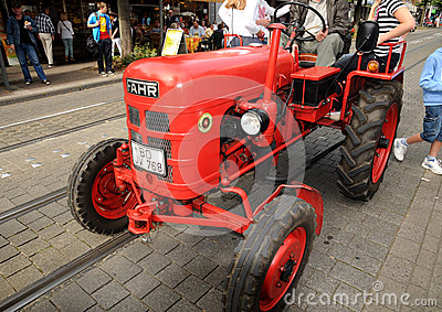 An old Fahr tractor Editorial Stock Image
