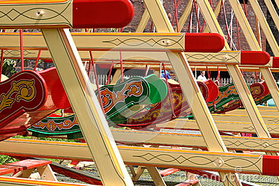 Old fairground ride B