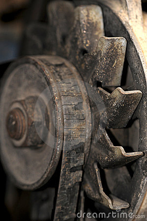Old fan belt
