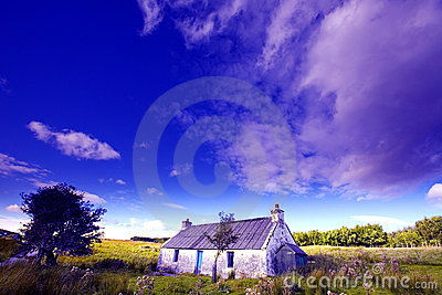 Old farm on Isle of Skye