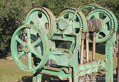 Old farm machinery
