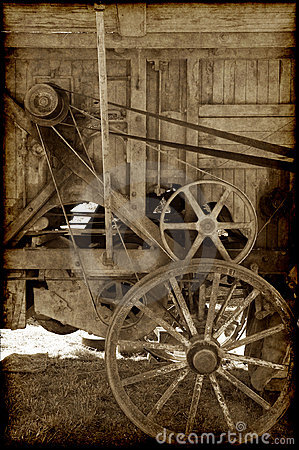 Free Old Farm Machinery Royalty Free Stock Image - 8105026