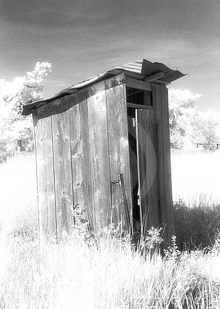 Free Old Farm Outhouse Royalty Free Stock Image - 31926