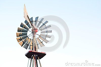 how to make an old fashion windmill for pumping water