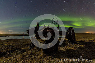 Old Farmall & Northern Lights