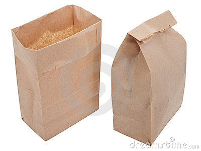 Old-fashied lunch bag