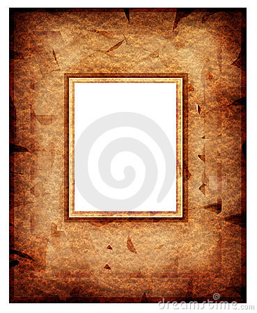 Old fashion abstract  frame