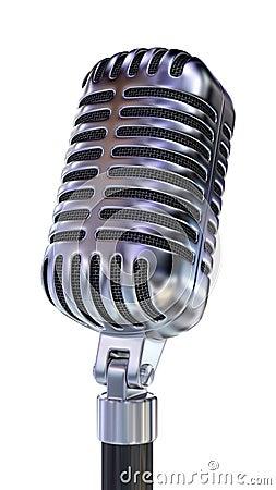 Old Fashion Microphone