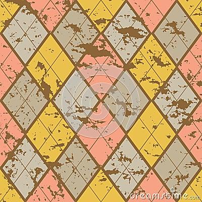Old fashion rhombuses