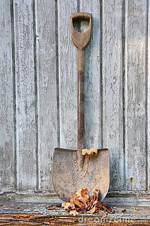 Old fashion spade