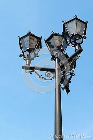 Free Old Fashion Street Lamp Stock Photo - 31167790