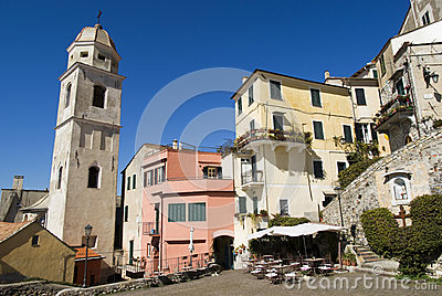 Colours of the old Mediterranean architecture