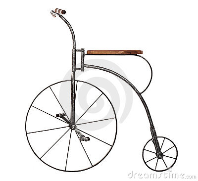 Free Old Fashioned Bicycle Royalty Free Stock Photo - 5071735