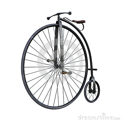 Free Old Fashioned Bicycle Royalty Free Stock Photos - 61735638