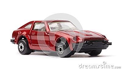 Old-fashioned car model