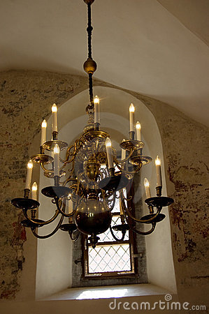 Old-fashioned chandelier
