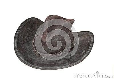Old-fashioned cowboy hat