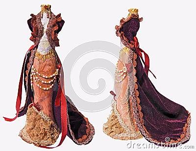 Old-fashioned Dress Stock Photo - Image: 41682533