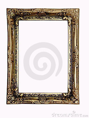 Old-fashioned frame.