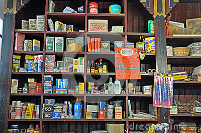 Old Fashioned General Store Editorial Stock Photo Image