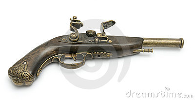 Old Fashioned Gun Royalty Free Stock Images Image 10578019