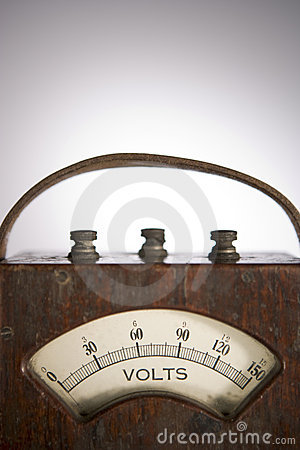 Old Fashioned Portable Meter