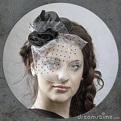 Old-fashioned portrait