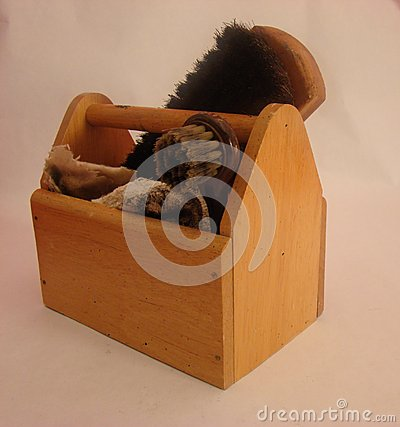 Vintage shoe shine kit eBay 47