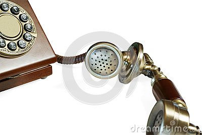 Old-fashioned telephone