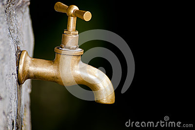 A old faucet