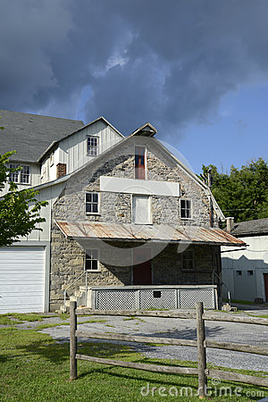 Old feed mill