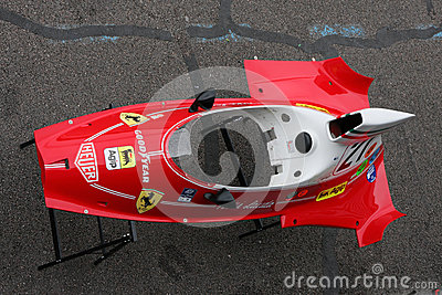 Old Ferrari Body Editorial Stock Photo