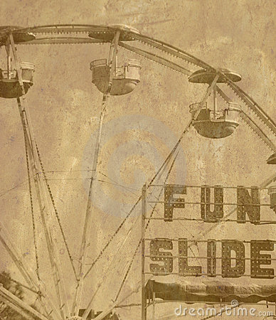 Free Old Ferris Wheel Royalty Free Stock Photography - 9023797