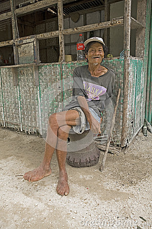 Philippines - Old Man Editorial Photography
