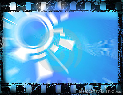 Old film frame