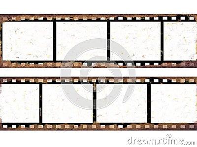 Old film frames