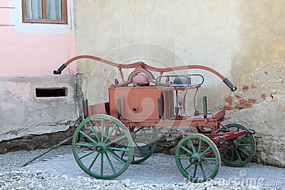 Old fire car