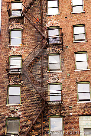 Old fire escape