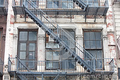 Old Fire staircase