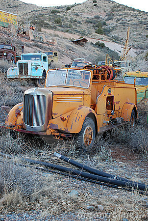 Free Old Fire Truck Stock Image - 11493861
