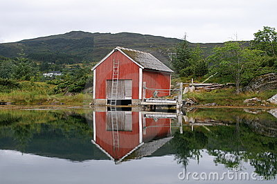 Old fisherman s house, Norway