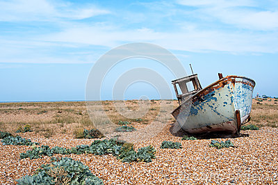 Old Fishing Boat Dungeness