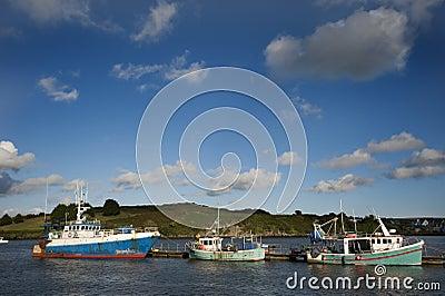 Old fishing boats.