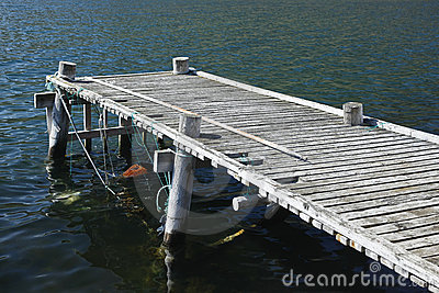 Old fishing dock