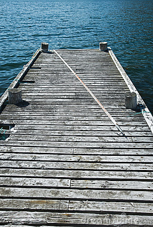 Free Old Fishing Dock Royalty Free Stock Images - 18372299